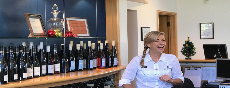 grove mill winery cellar door host katrina amazing storiesries