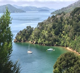 governors bay queen charlotte drive view